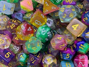 Check all Plastic and Resin Dice